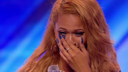 "The X Factor Uk 2013 - Tamera Foster изпълнява "" I Have Nothing "" by Whitney Houston"
