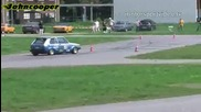 Osterslalom Rallye Club Neuss - Vw Golf 1
