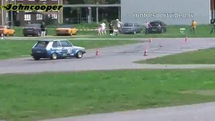 Osterslalom Rallye Club Neuss - Vw Golf 1