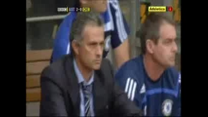 Chelsea 0:2 Astonvilla Premiership Round 5
