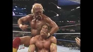 WWF Ultimate Warrior vs. Hulk Hogan - WrestleMania VI **HQ** (Част 1)