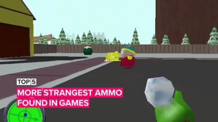 Here's five more games with really strange ammo