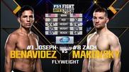 Joseph Benavidez vs Zach Makovsky (ufc Fight Night 82, 06.02.2016)