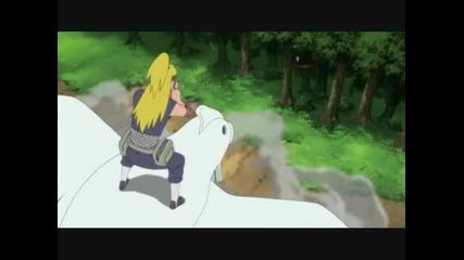 Sasuke Vs Deidara (sum 41 - Open Your Eyes)