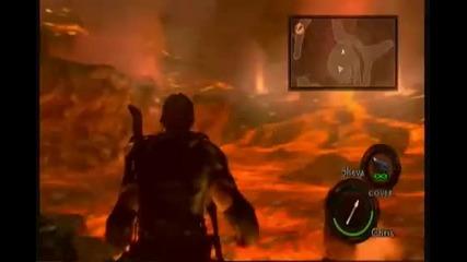 Resident Evil 5 Last Boss