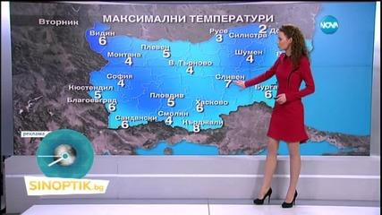 Прогноза за времето (27.01.2015 - сутрешна)