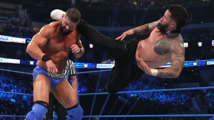 Roman Reigns & The Usos vs. King Corbin, Dolph Ziggler & Robert Roode: SmackDown, Jan. 24, 2020