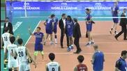 Remi Gaillard - шега със Световните шампиони по волейбол 2015