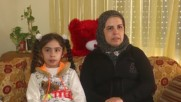 Syria: Girl injured in Aleppo shelling returns to Syria following treatment in Russian hospital