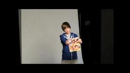 Justin Bieber на фотосесия