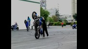 Motorcycle Stunts quot;crazy In Seattle quot; Chapter 3 Tri