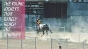 Ride like the wind kiddo: Indonesia's child jockeys