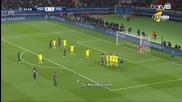 Давид Луиш изхитрува в мача с Челси