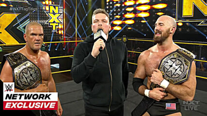 Pat McAfee speaks after his shocking return to NXT: WWE Network Exclusive, Oct. 21, 2020