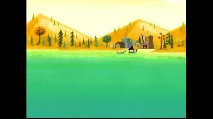 Лагерът Ласло (camp lazlo) – Peace Frog / Lumpus's Last Stand (с5е8, 2008, последен епизод)