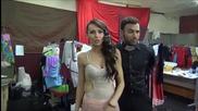 Dancing Stars - Нели и Наско зад кадър - 20.03.2014 г.