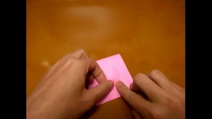 origami beating heart