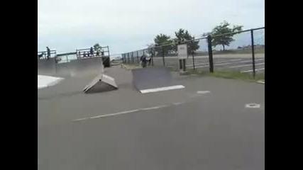 Aggressive Skating Compo Beach