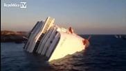 Огромен кораб потънал