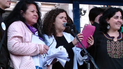 Argentina: Scientists, teachers and students protest against Macri's budget proposal in Buenos Aires