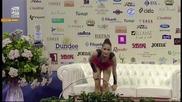 Невяна Владинова - обръч - финал - Световна купа по художествена гимнастика - София 2015