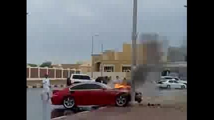 Инцидент с Bmw M6 в Абу Даби Обединени арабски емирства
