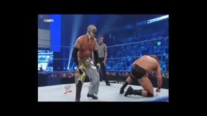 Rey Mysterio vs. Drew Mcintyre - Wwe Smackdown 14.04.11