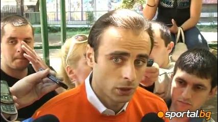 Димитър Бербатов: На терена приятели няма!и ние ще искаме да бием Ирландия,  те нас - също