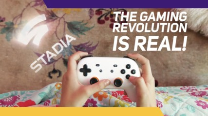 Big games on any screen with Stadia!