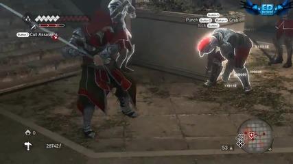 Assassin's creed brothehood-някои готини атаки