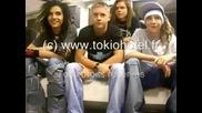 Интервю С Tokio Hotel В Париж - Част 1