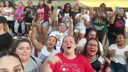Atlantic City Lovatic Meet Up concert Stay Strong Demi