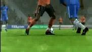 Как да правим финтове с джойстик на Fifa 10 ! (hd)