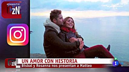 David Bisbal Y Rosanna - Un Amor Con Historia / Reportaje Programa Corazon 08.04.2019