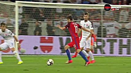 Словакия - Англия 0:1 /репортаж/