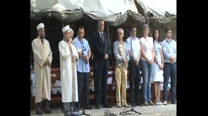Главният мюфтия Мустафа Хаджи агитира за Дпс