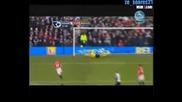 Фулам - Манчестър Юнайтед 1:0 гол на Дани Мърфи