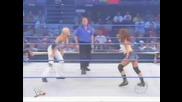 Wwe Smackdown Torrie Wilson vs Nidia [ Sable