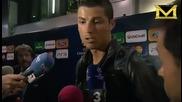 Кристиано Роналдо се оплаква от мишки