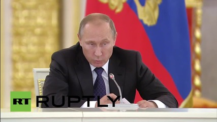 Russia: Putin dismisses allegations of civilian victims in strikes on IS in Syria