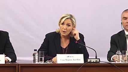 Bulgaria: Le Pen says EU didn't take 'strategic Russia' into consideration