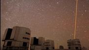 Много голяма обсерватория.•звездите на небето са изящни.