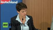 Germany: AfD speaker calls for end to open-door refugee policy, praises PEGIDA