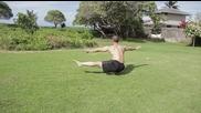 Гимнастика за напреднали- баланс на един крак