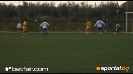 Левски - Динамо Москва 3:1 (всички голове)
