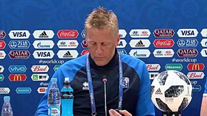 Russia: Iceland prepares ahead of Nigeria match in Volgograd