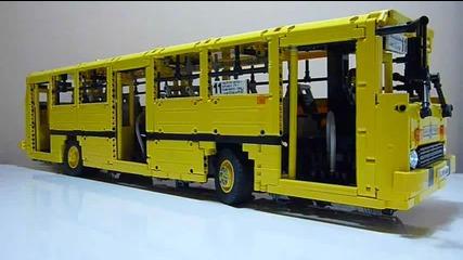 Модел на Ikarus 260 от Lego конструктор/с добавен мотор/