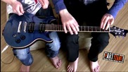 House of the rising sun - partyzant _ Miki ( guitar pencils drumming )