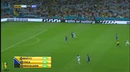World Cup 2014 - Argentina vs Bosnia-herzegovina 2-1