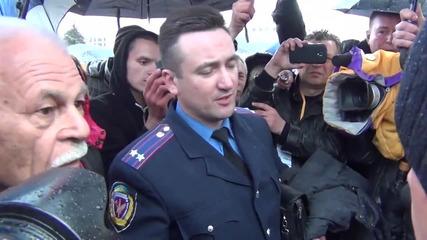 Интервю от Харков - подполковник Андрей Чуйкова